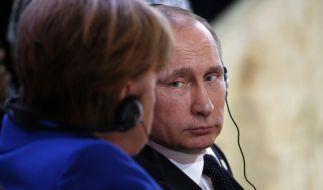 Will Putin Angela Merkel wirklich aus dem Weg räumen? (Foto)