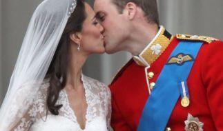 William und Kate haben im April 2011 eine pompöse Märchenhochzeit gefeiert. (Foto)