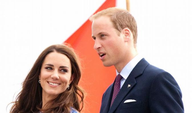 William und Catherine (Foto)