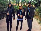 Wilson Gonzalez, Cheyenne Savannah und Jimi Blue Ochsenknecht. (Foto)