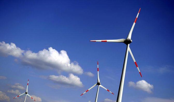 Windkraftanlage (Foto)