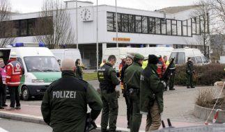 Winnenden am 11. März 2009: Tim K. metzelt 15 Menschen nieder. (Foto)