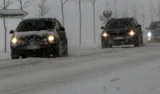 Winter fordert Opfer - Hunderte Unfälle, mehr Tote (Foto)