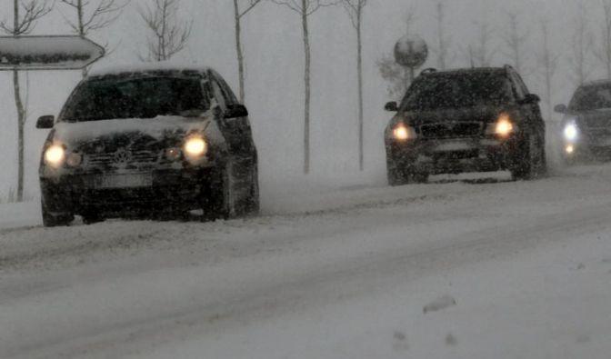 Winter fordert Opfer - viele Unfälle (Foto)