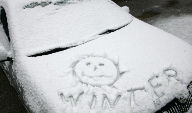 Winter in Deutschland (Foto)