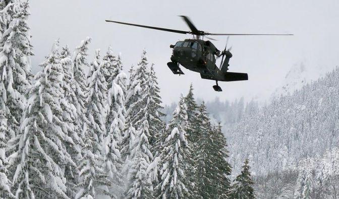 Winterchaos in den Alpen: Österreich versinkt im Schnee (Foto)