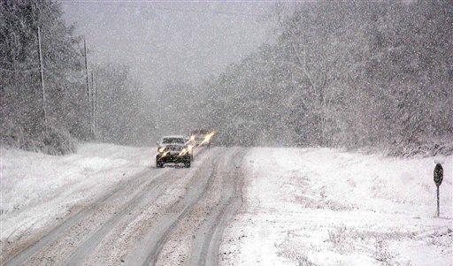 Wintereinbruch (Foto)