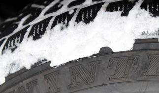 Winterreifenpflicht tritt Samstag in Kraft (Foto)