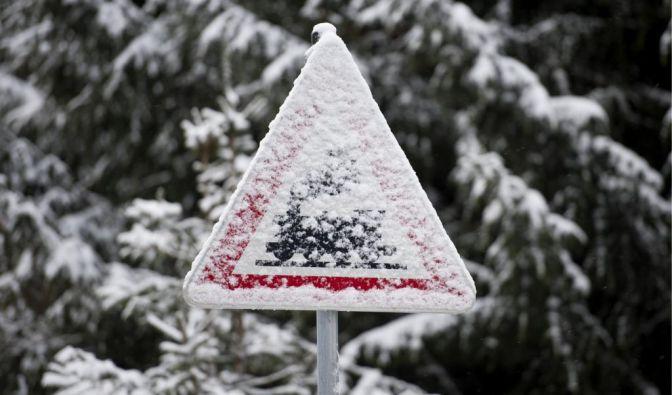 Winterwetter (Foto)