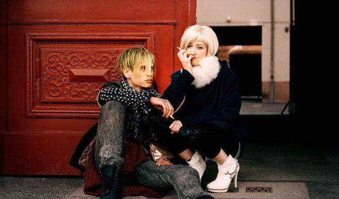 Wird der obdachlose Punk Kalle sein Glück mit der Prostituierten Irina finden? (Foto)