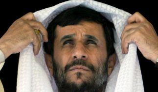 Wirft Deutschen Spionage vor: Irans Präsident Mahmud Ahmadinedschad. (Foto)