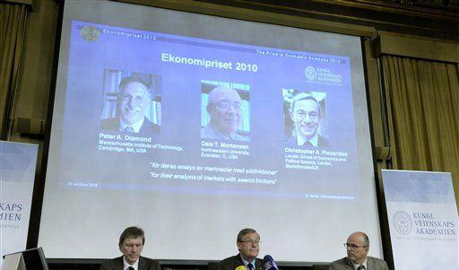 Wirtschafts-Nobelpreis (Foto)