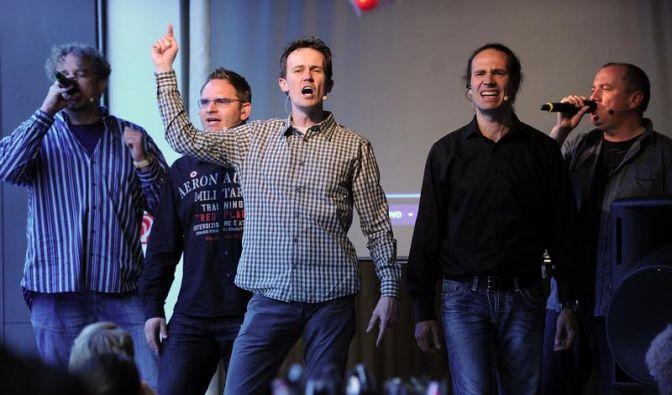 Wise Guys: Frecher A-cappella-Gesang aus Köln (Foto)