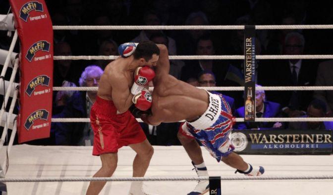 Wladimir Klitschko vs. Haye (Foto)