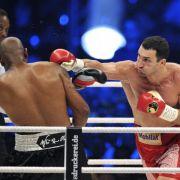 Wladimir Klitschko zeigte in seinem 61. WM-Kampf, wer der Chef im Ring ist. Sein Kontrahent Tony Thompson ging in der sechsten Runde zu Boden.