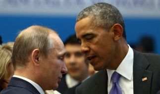 Wladimir Putin und Barack Obama im regen Austausch über die Lage in Syrien. (Foto)