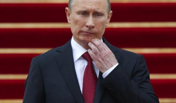 Wladimir Putin: Der Präsident bekämpft die Proteste auf seine Art. (Foto)