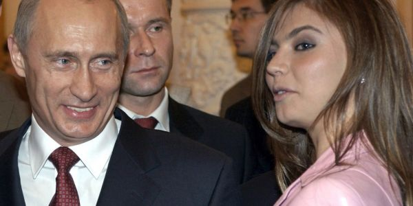 Wladimir Putin in love