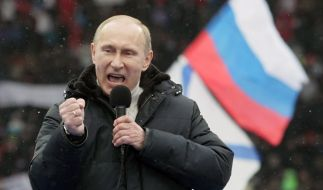 Wladimir Putin wird wieder russischer Präsident (Foto)
