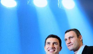 Wladimir und Vitali Klitschko (Foto)