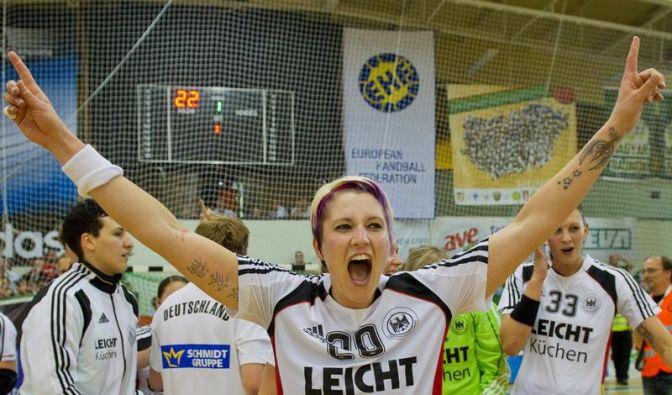 WM-Chance genutzt: Handball-Frauen besiegen Ungarn (Foto)