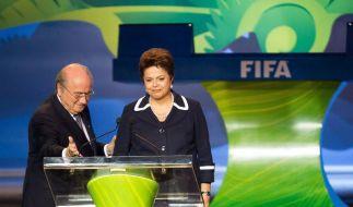 WM-Gesetz: FIFA drängt, Brasilien schiebt auf (Foto)