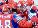 WM: Russen gegen Finnen - Slowakei fordert Tschechien (Foto)