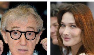 Woody Allen dreht mit Carla Bruni (Foto)
