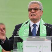 Joachim Gauck würdigt die Kirchen (Foto)