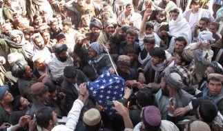 Wütende Prosteste in Afghanistan (Foto)