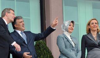 Wulff in der Türkei (Foto)