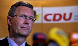 Wulff stellt sich Wahlmännern vor (Foto)