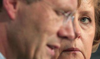 Wulff will wohl im Amt bleiben (Foto)