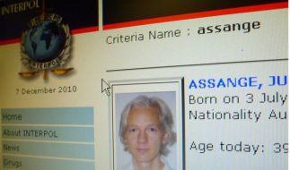 Wurde weltweit von Interpol gesucht: Wikileaks-Gründer Julian Assange. (Foto)