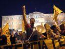 Wut und Protest in Athen: Demonstration vor dem Merkel-Besuch in der griechischen Hauptstadt. (Foto)