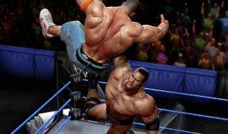«WWEAll Stars» ist Geprügel mit Showeffekt (Foto)