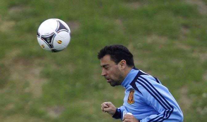 Xavi gegen Pirlo: Duell der genialen Spielmacher (Foto)
