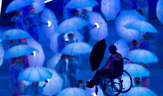 XIV. Paralympics: Eroeffnungsfeier (Foto)
