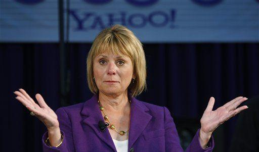Yahoo-Chefin Carol Bartz erchreckt Amerika mit Schimp-Attacken. (Foto)