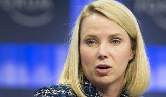 Yahoo-Chefin Marissa Mayer sieht sich mit Sexismus-Vorwürfen eines ehemaligen Mitarbeites konfrontiert. (Foto)