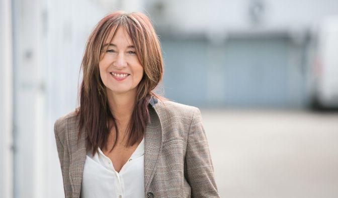 Yvonne Firdaus, Geschäftsführerin der Coworking Space GarageBilk in Düsseldorf.