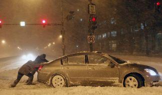 Zahlreiche Blizzard-Tote in den USA (Foto)