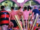 Zahlreiche Gäste feiern in der Partylocation Megapark an der Playa de Palma. Normalerweise geht es dort friedlich zu. (Foto)