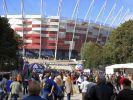 Zehntausende Warschauer besuchten neues EM-Stadion (Foto)