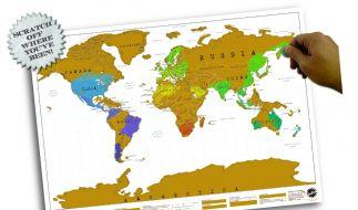 Zeigen, welches Land schon bereist wurde: Mit dieser Spielerei erhalten Sie einen persönlichen Blick auf die Welt. (Foto)