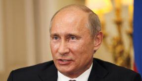 Zeigt sich ungewöhnlich milde: Russlands Präsident Wladimir Putin. (Foto)