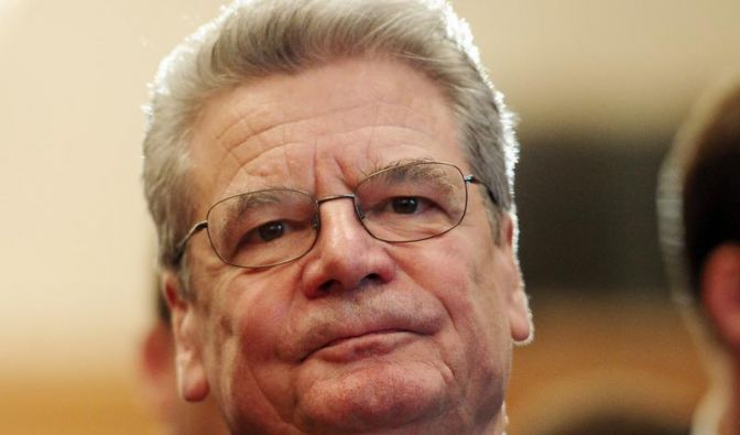 Zeitung: Gauck sagt Besuch in der Ukraine ab (Foto)