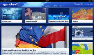 Zeitungen klagen gegen «Tagesschau»-App (Foto)