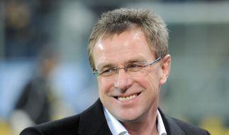 Zeitung:Rangnick soll Schalke-Trainer werden (Foto)