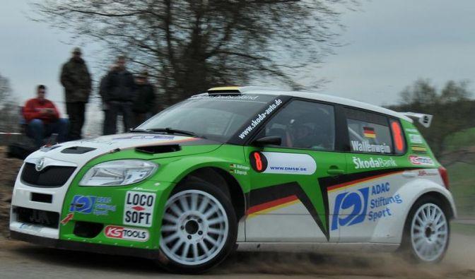 Zeltner gewinnt Sachsen-Rallye - Wallenwein in Führung (Foto)